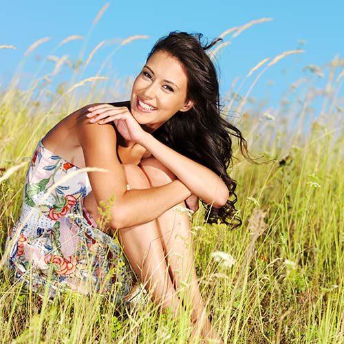 healthy woman holistic approach